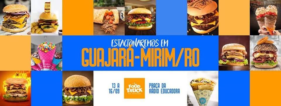 7ffbc52b0f Evento: *Food Truck na Estrada* chega nesta semana em Guajará-Mirim